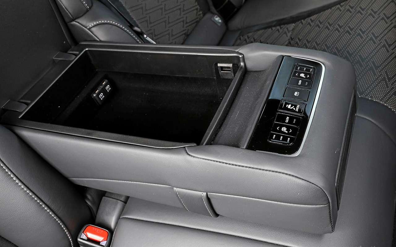 Большой тест престижных седанов: новый Lexus LS500и конкуренты— фото 928766