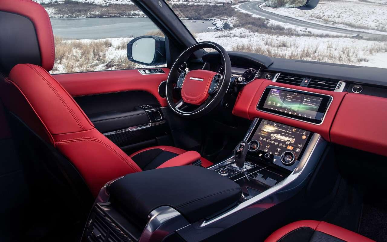 Range Rover Sport получил новую 400-сильную версию— фото 949009