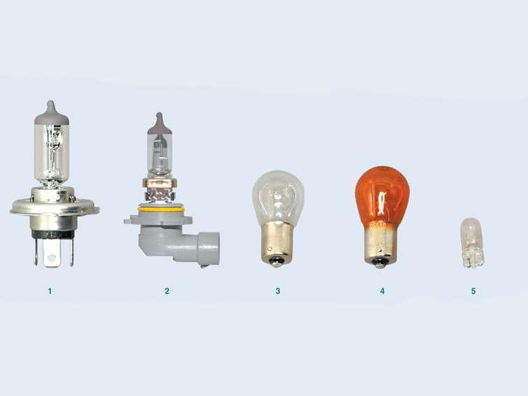какие лампы стоят в фарах фольксваген поло
