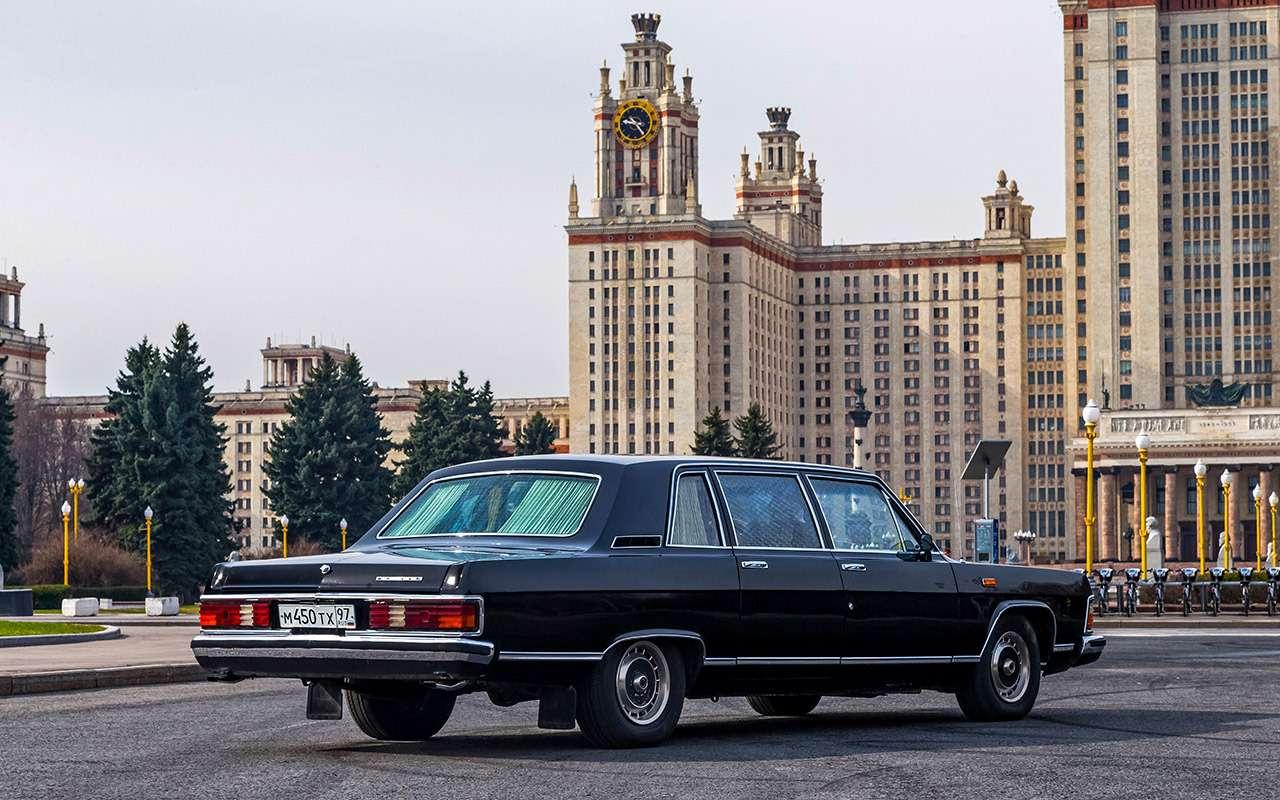 Тест машины, которую никогда непродавали: Чайка ГАЗ‑14— фото 998637