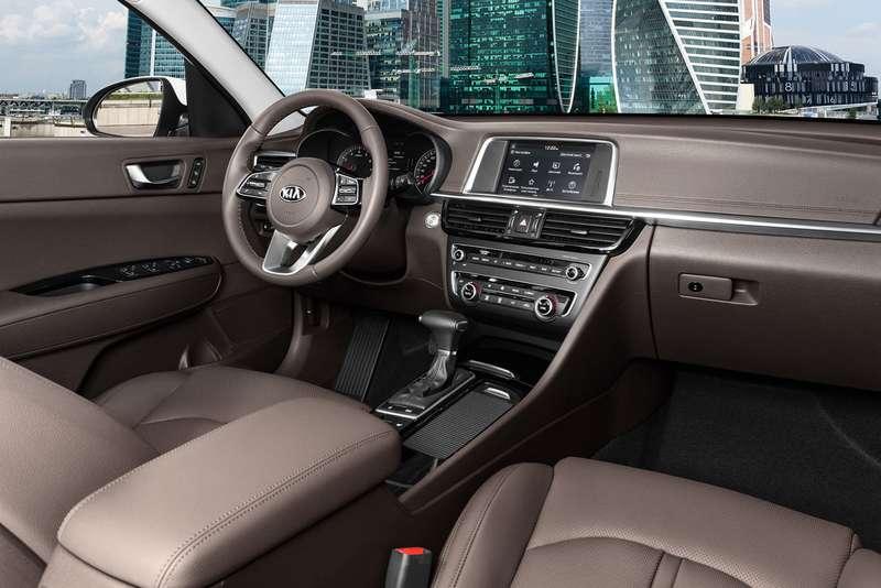 Обновленная Kia Optima для России: известны цены и комплектации