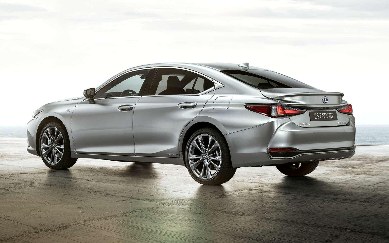 Новый Lexus ES: без полного привода итурбомоторов— фото 865658