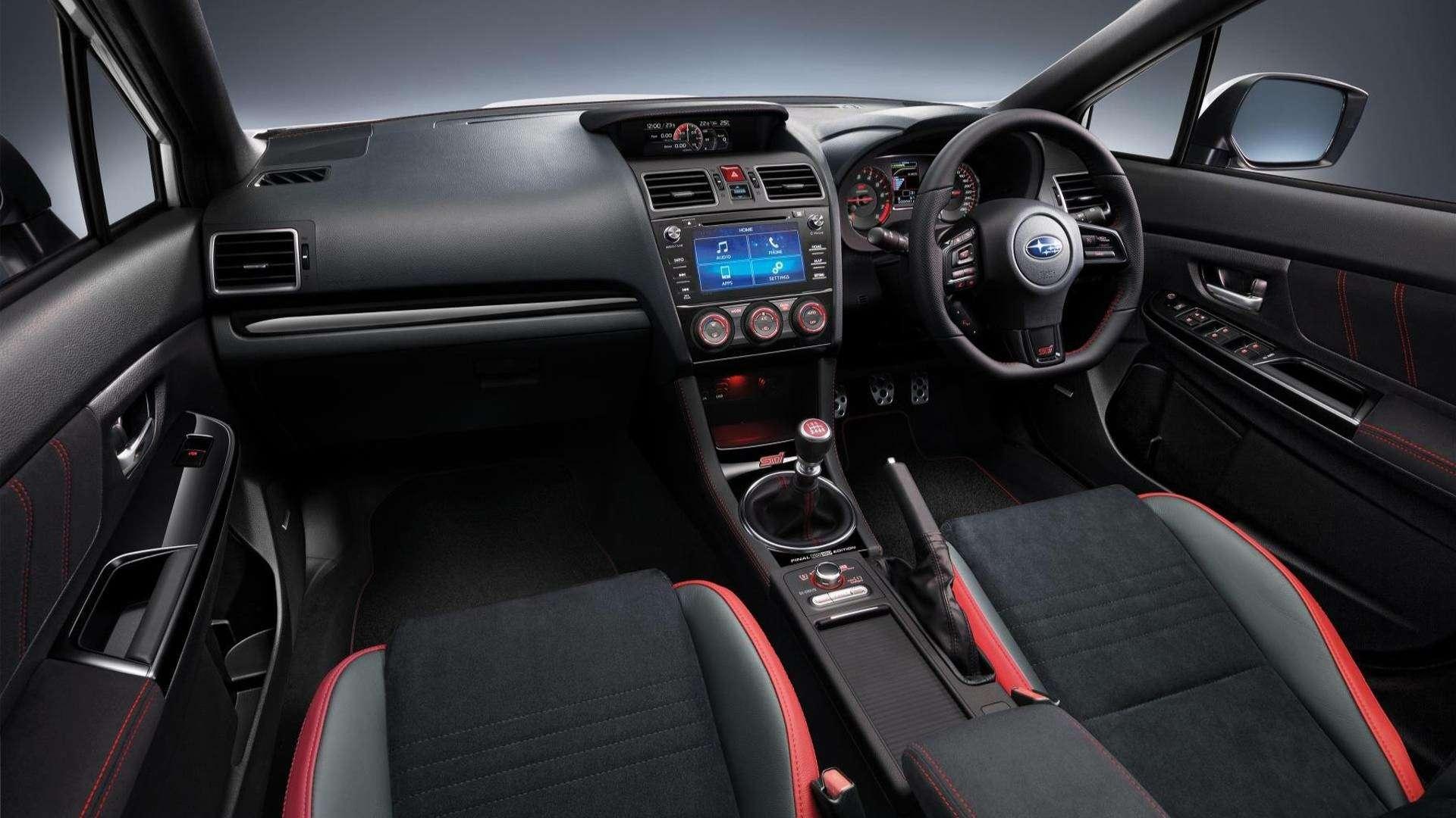 Subaru прощается сWRX STI— представлена финальная спецсерия— фото 812561