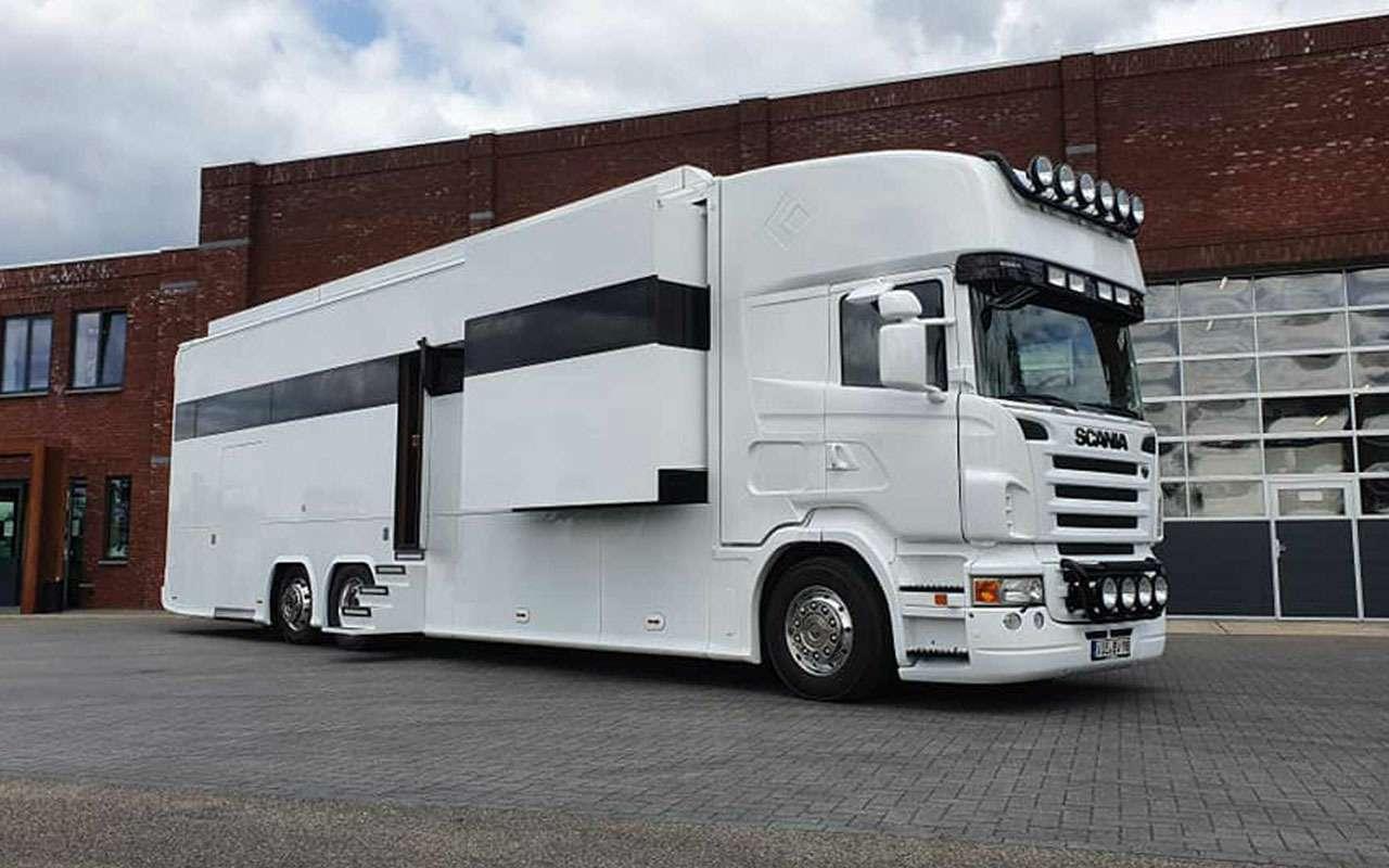 Удивительная автовилла Scania RV— три спальни игараж— фото 1136893