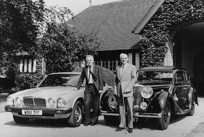 Фотосессия вУоппенбери Холл спреемником— сэром Джоном Эганом, 1984год