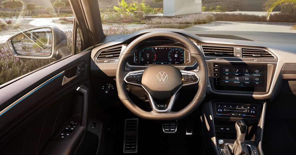 Обновленный Volkswagen Tiguan: цены икомплектации— фото 1208337
