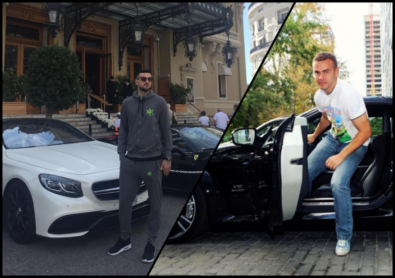 На чем ездят российские футболисты фото ошеломительными