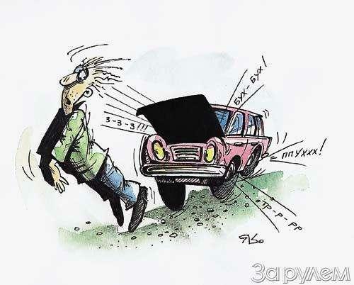 Простейшая диагностика: что стучит из-под капота машины?— фото 7853