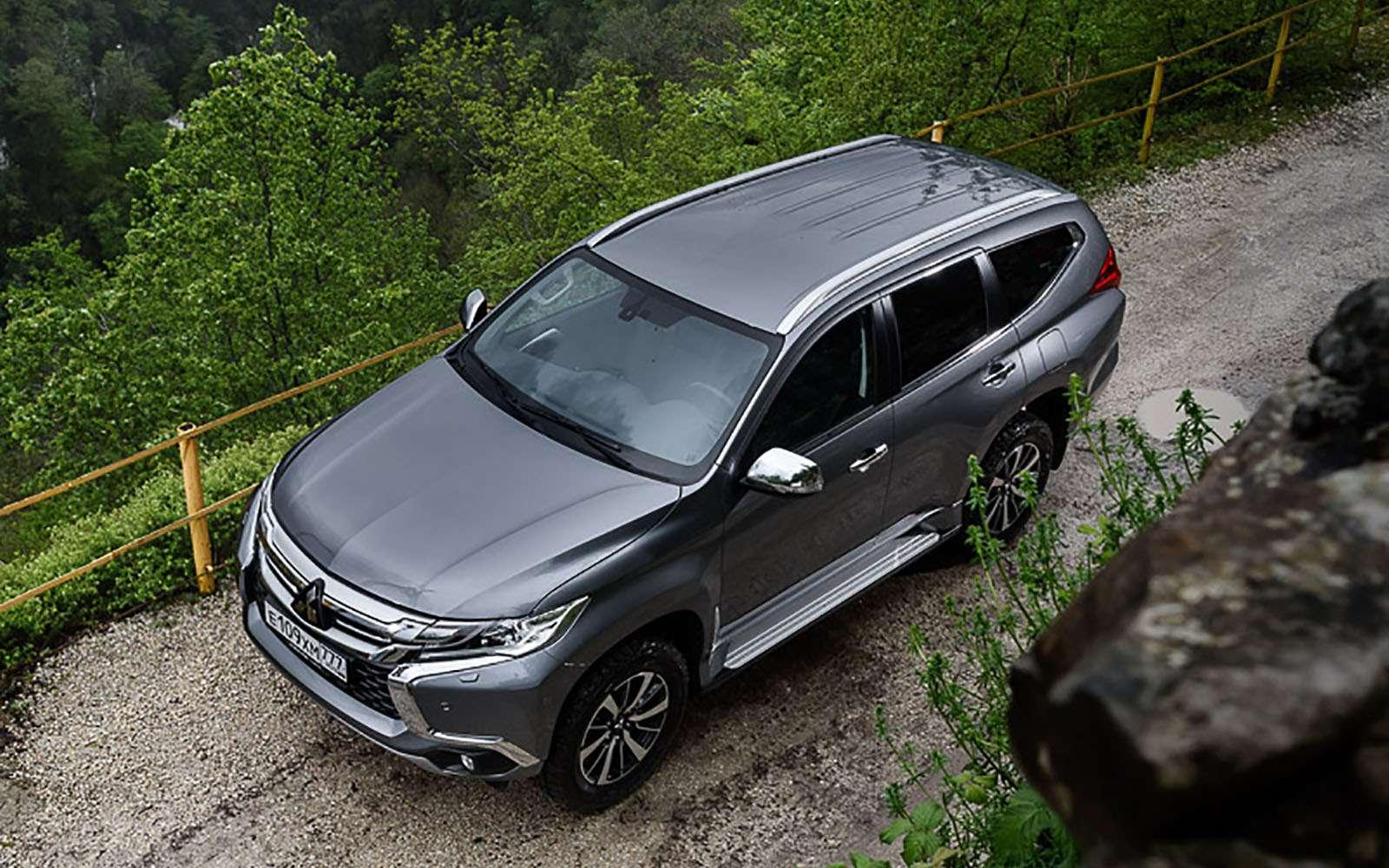 Mitsubishi снизила вРоссии цены  наPajero Sport— фото 798901