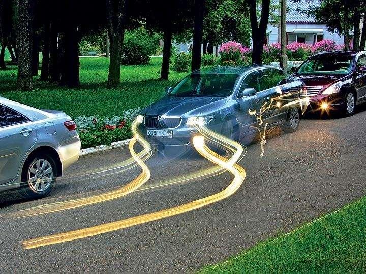 Тест Toyota Camry, Nissan Teana, Skoda Superb: Чудеса геополитики— фото 89490
