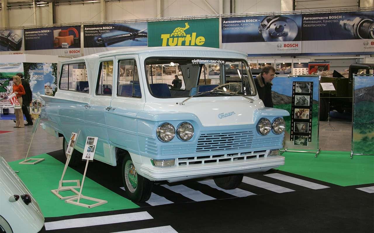 Самые редкие серийные автомобили СССР— фото 868845