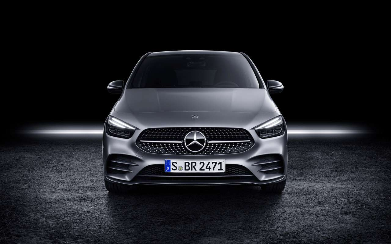 Новый Mercedes-Benz B-класса: онполучил опции отроскошного S-класса— фото 910412
