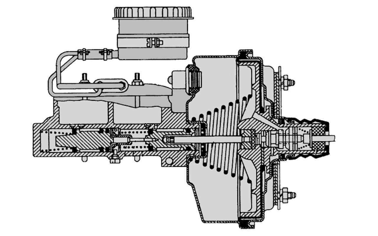 Чайка ГАЗ-14и ееамериканские «уши»— фото 1274116