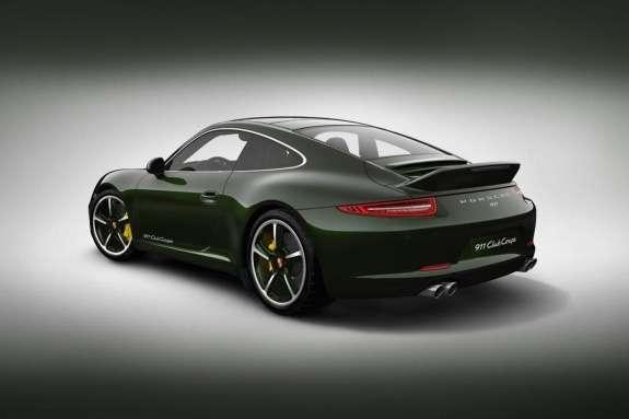 Porsche 911 Club Coupe side-rear view