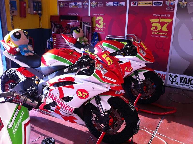 Команда Yakhnich Motorsport открыла сезон гонками вИталии