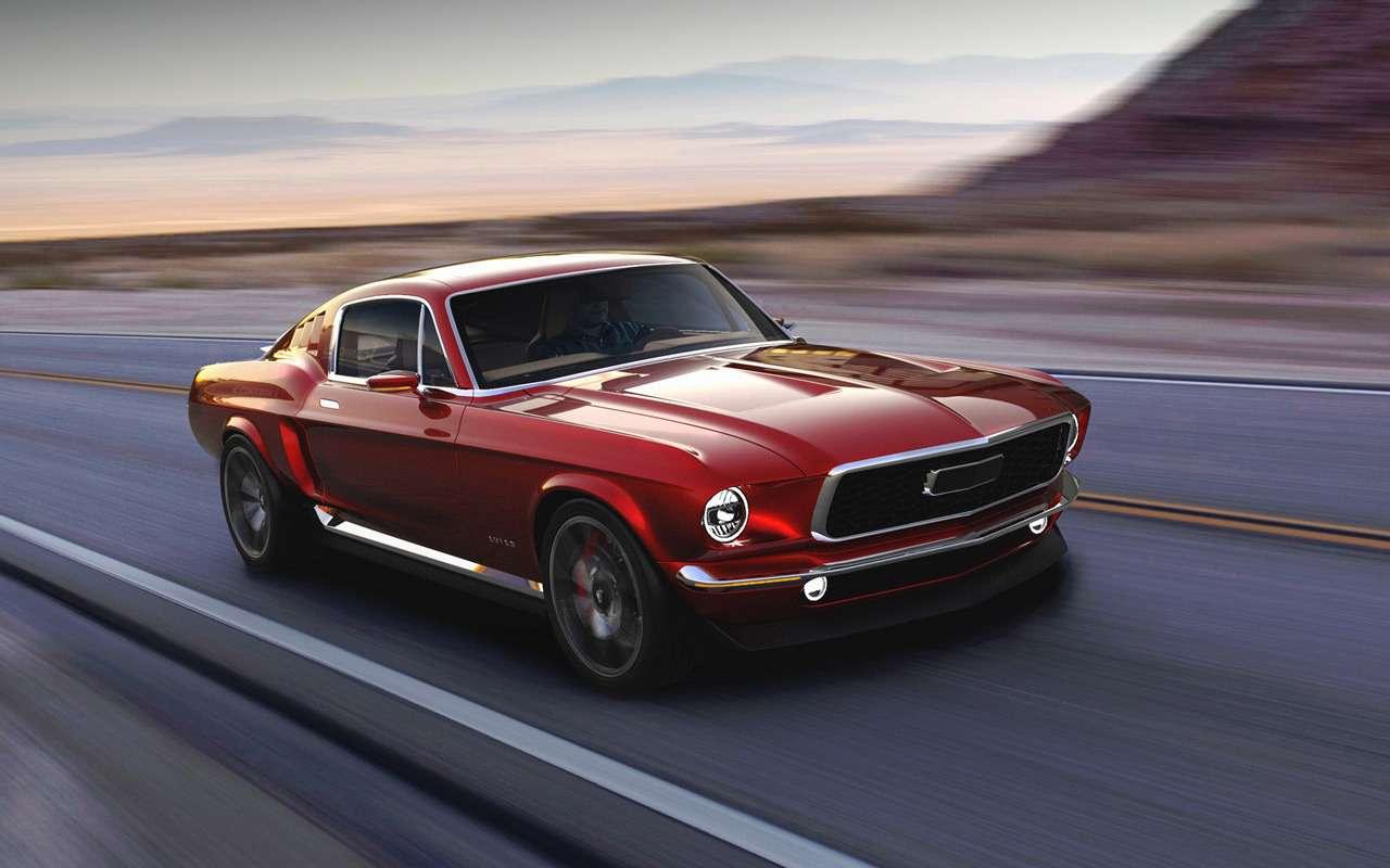 Mustang может стать российским иэлектрическим