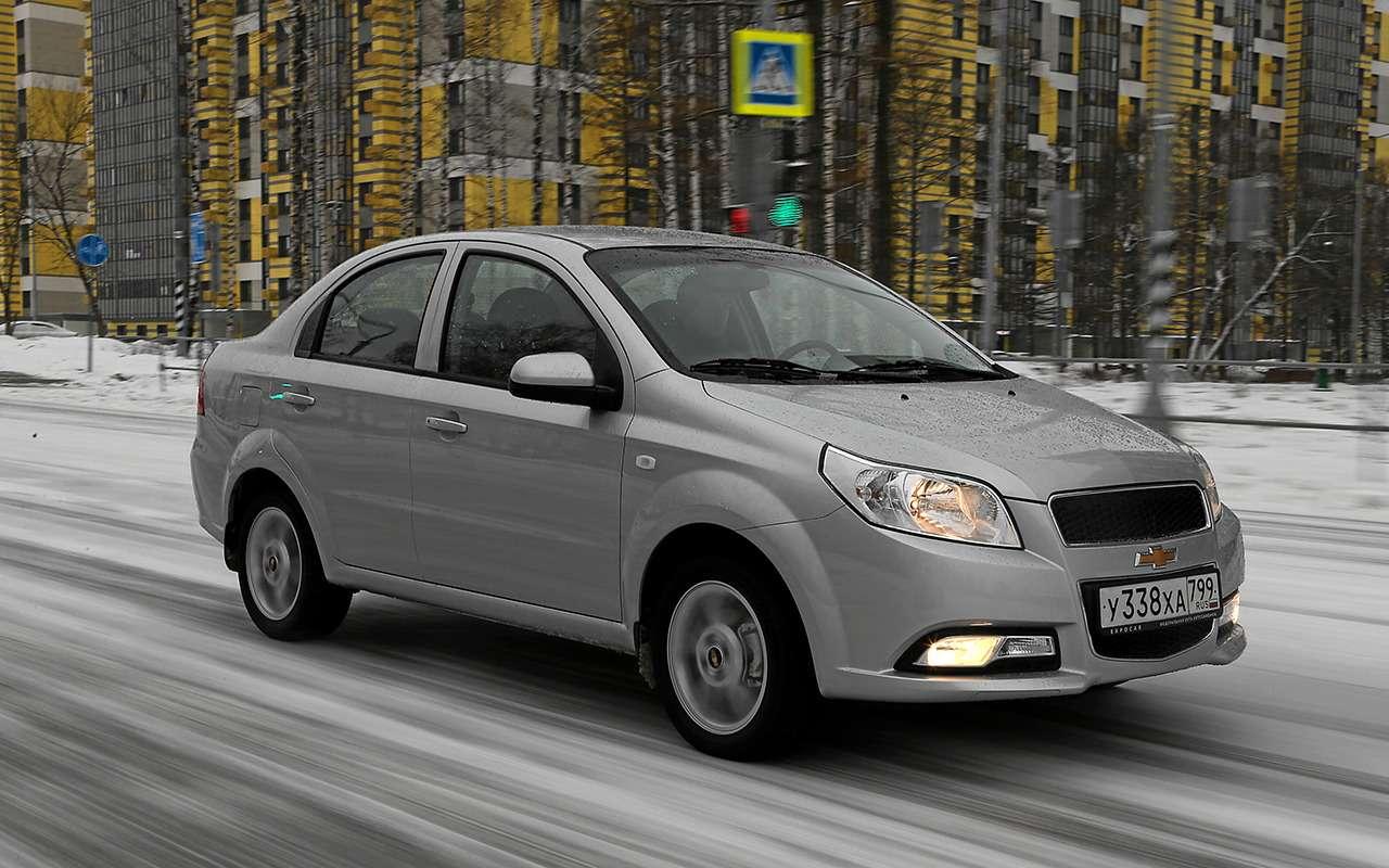Renault Logan против Chevrolet Nexia: тест самых доступных иномарок— фото 1233461