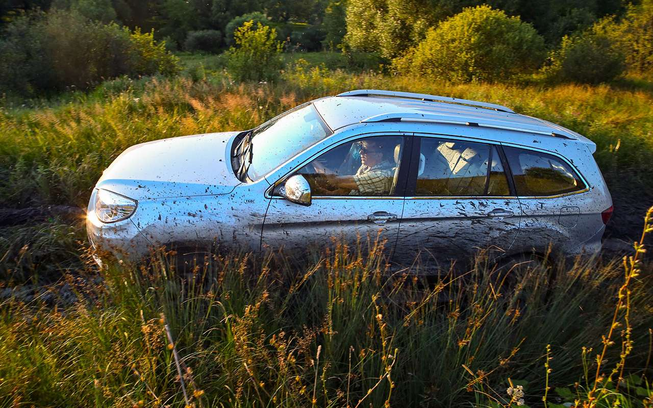 Foton Sauvana, DWHower H3или УАЗ Патриот— тест ЗР— фото 804655