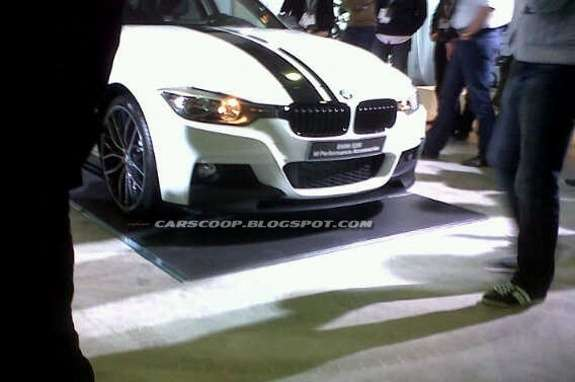 BMW 3-Series M Performance front view