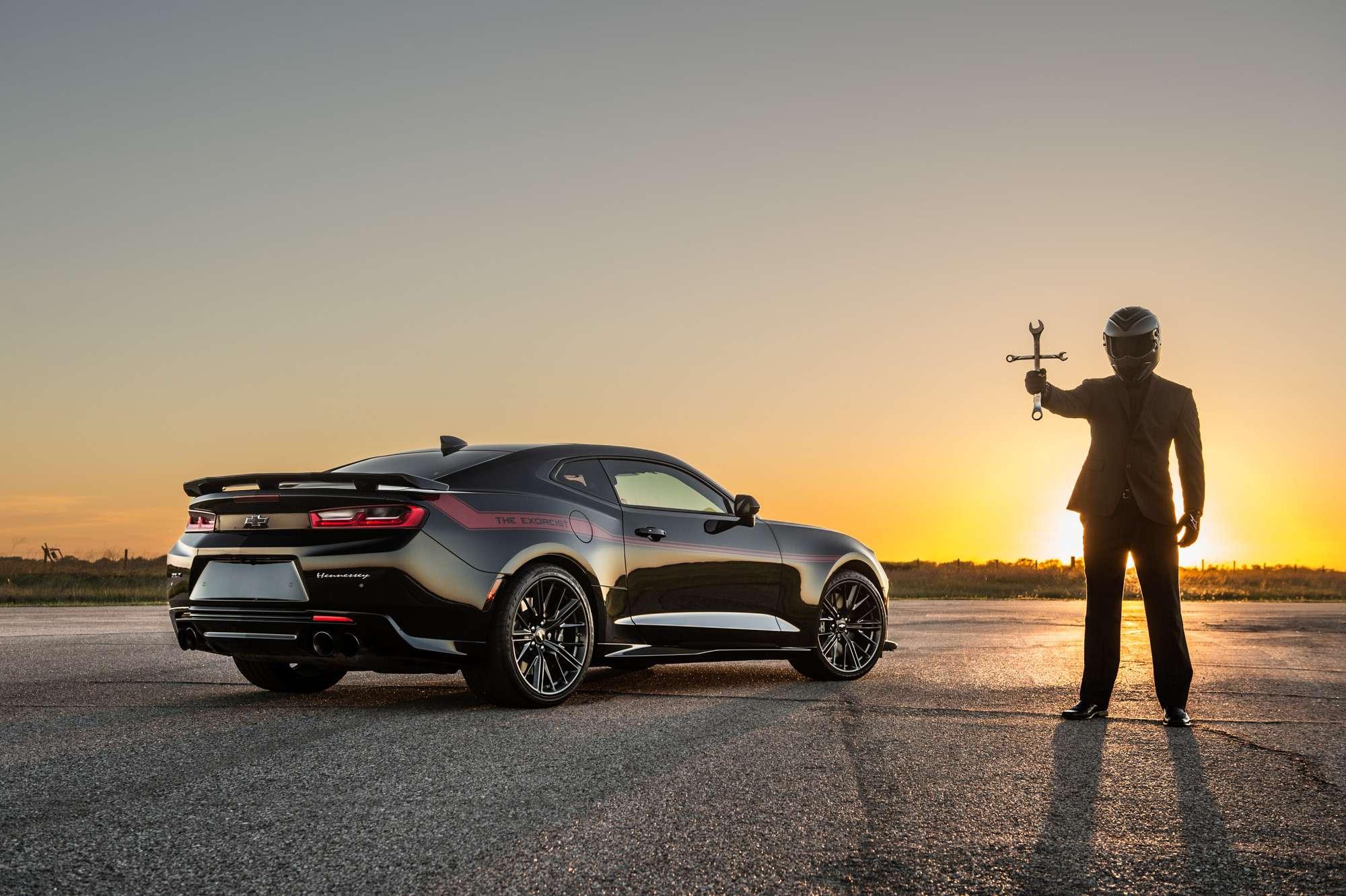 Изгоняющий Демона: Chevrolet Camaro ZL1 стал Экзорцистом— фото 732723