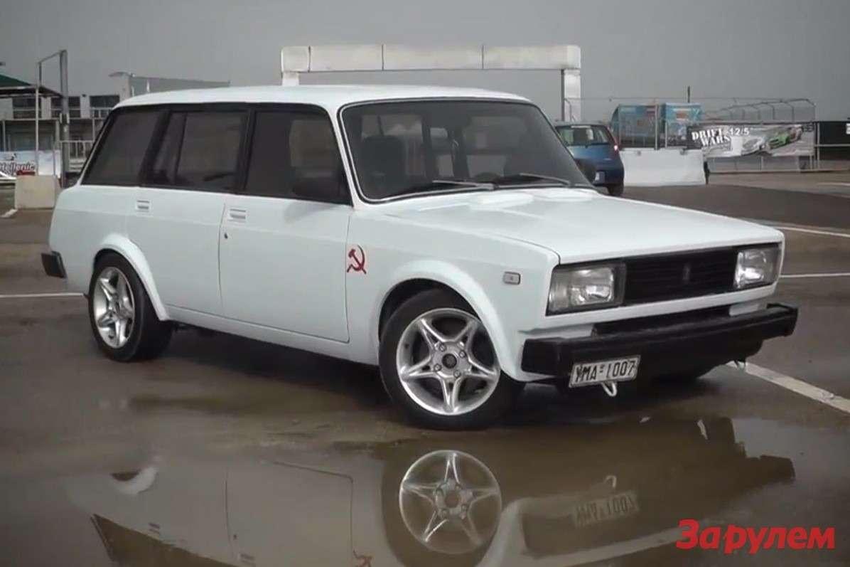Lada 2104с шасси имотором отNissan 240SX