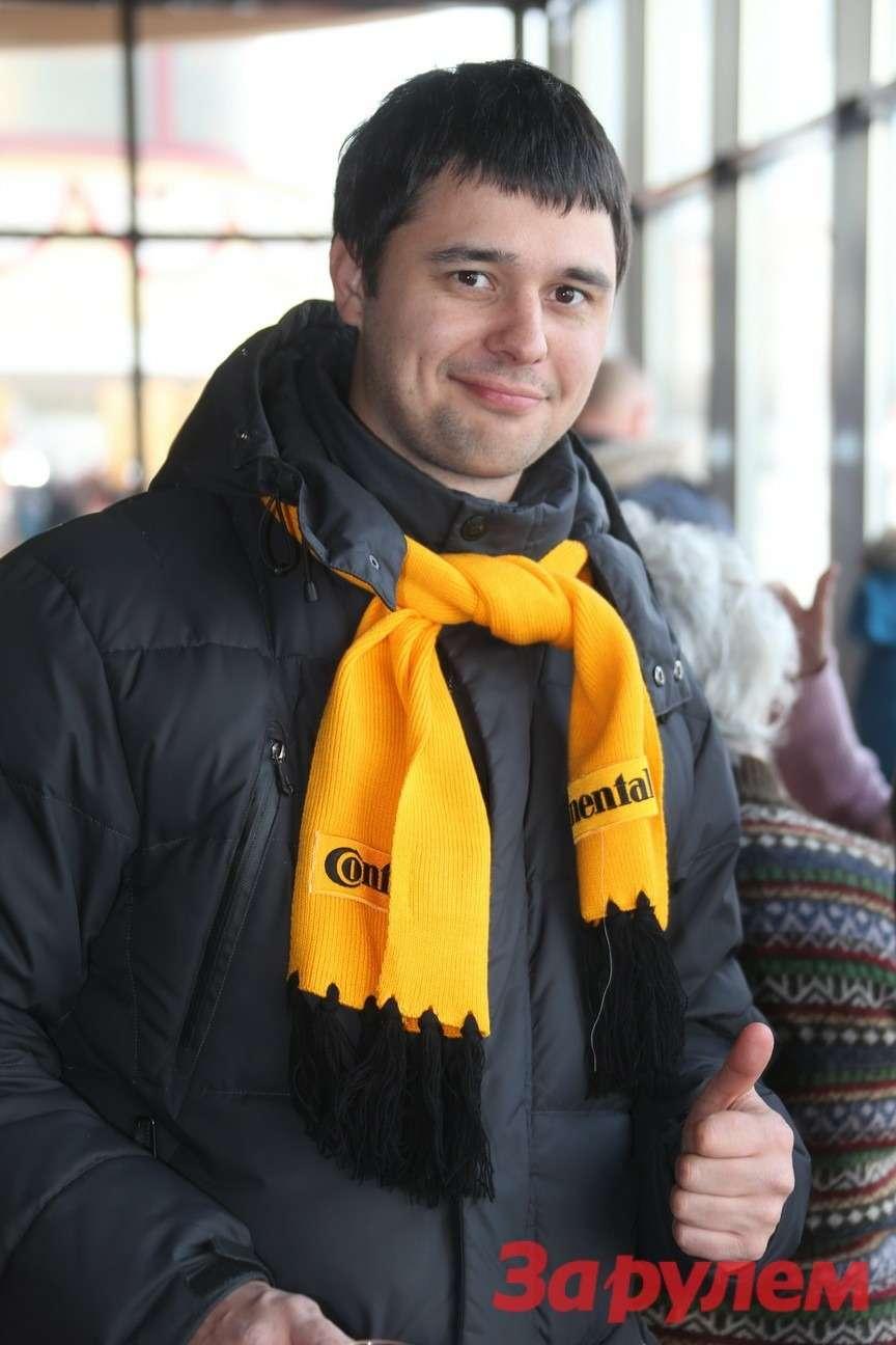 Дмитрий Макаров (компания Continental). Гонка Звезд «Зарулем»-2013
