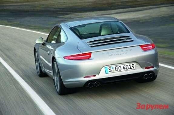 Porsche 911991 rear view
