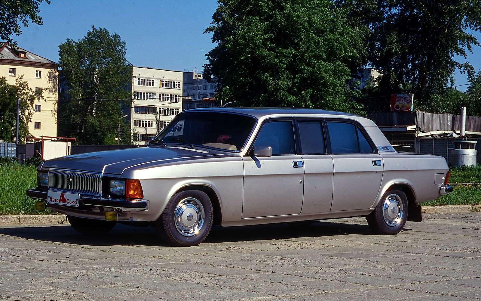 ГАЗ-3102 Волга лимузин
