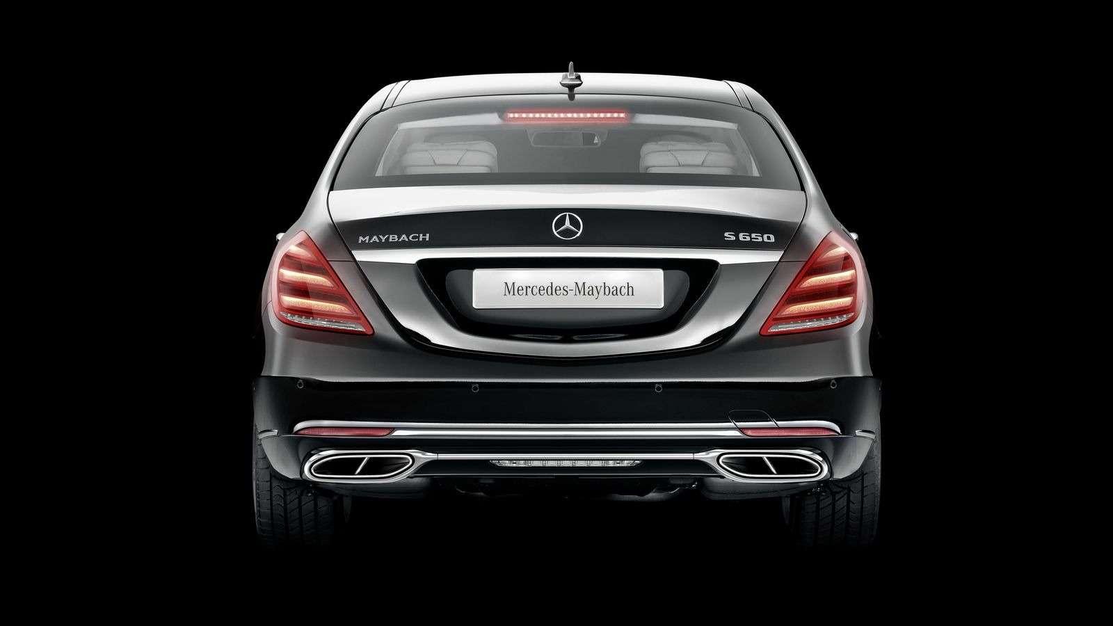 Лимузин Mercedes-Maybach Pullman пережил рестайлинг— фото 853890