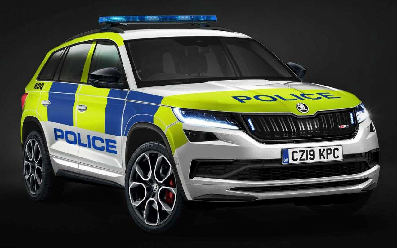 Топ-22 лучших ихудших полицейских автомобилей мира— фото 983547