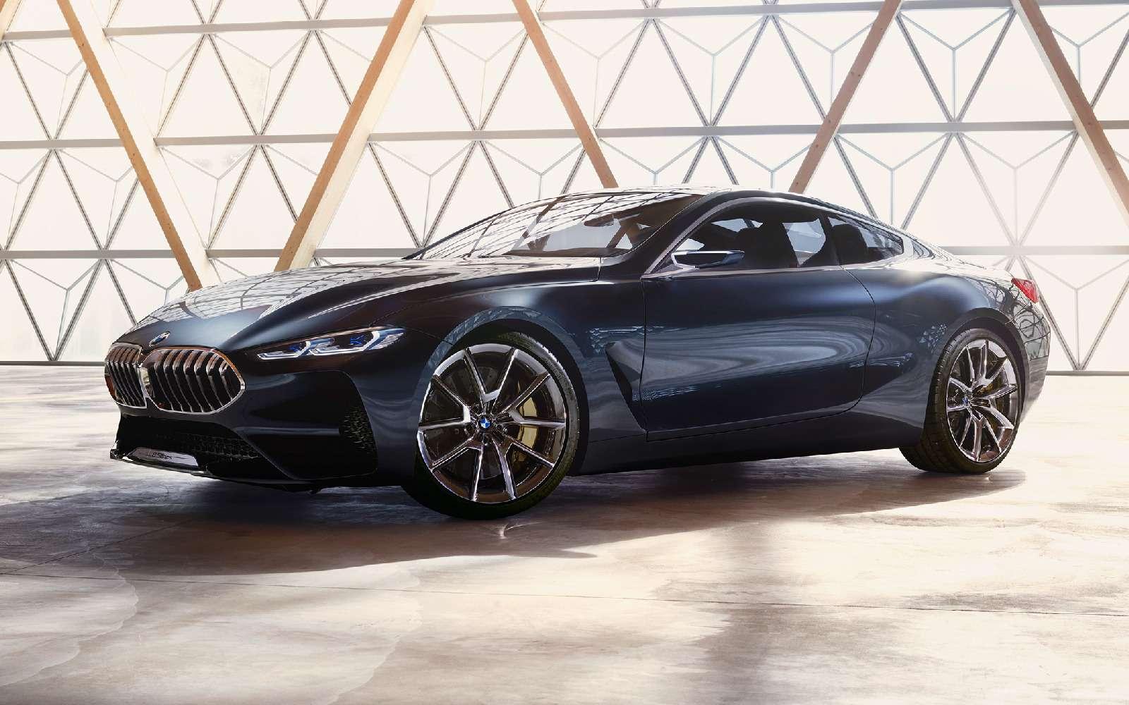 Великолепная «восьмерка»: новое купе BMW— теперь скристаллами!— фото 756639