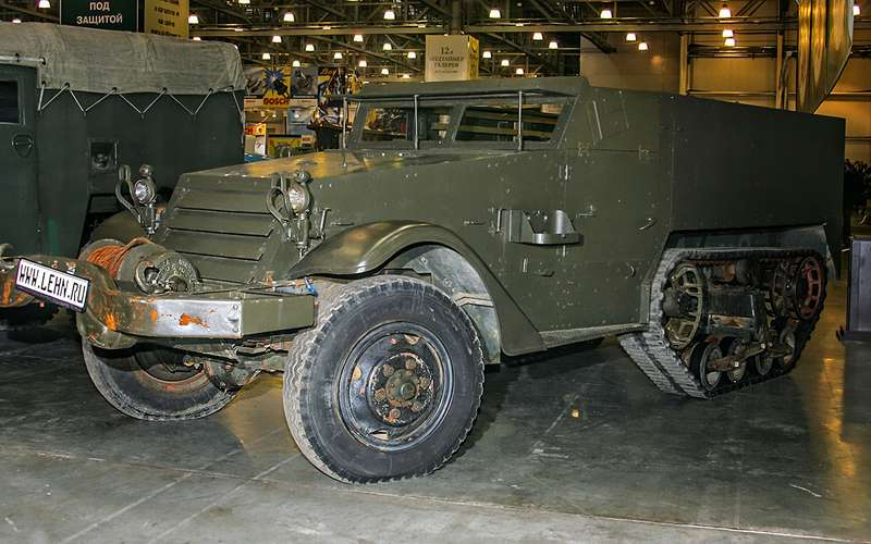 бронеавтомобиль M2/М3 Half Track