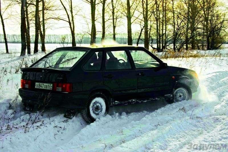 Полукровка: Samara сдвигателем Priora— фото 92900