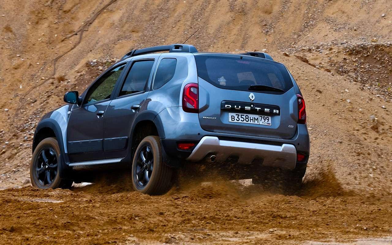 Renault Arkana, Duster, Kaptur: большой тест кроссоверов— фото 996221