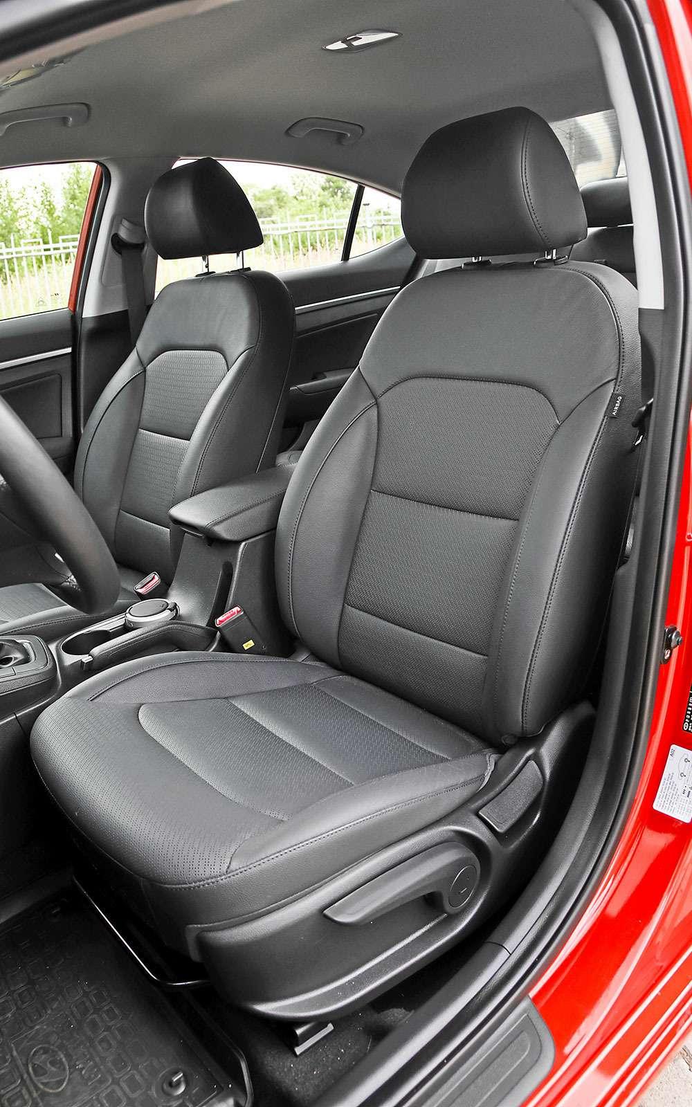 Сиденье Hyundai Elantra