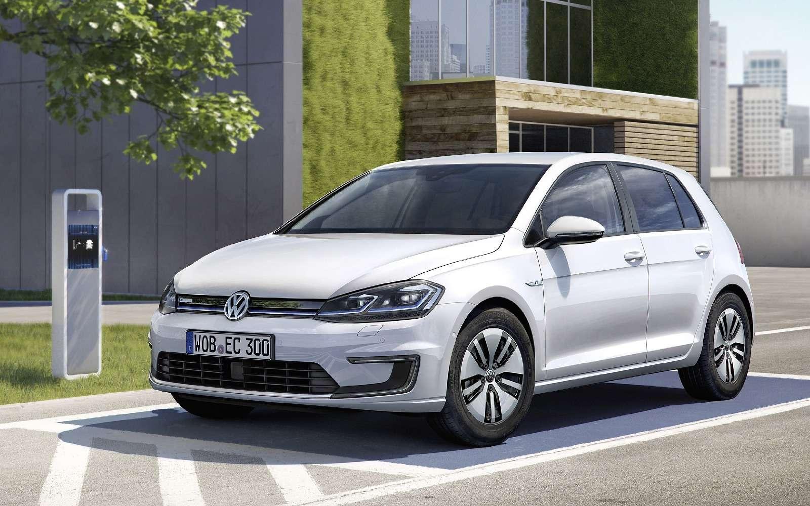 Озеленитель имиджа: Volkswagen обновил электромобиль e-Golf— фото 665346