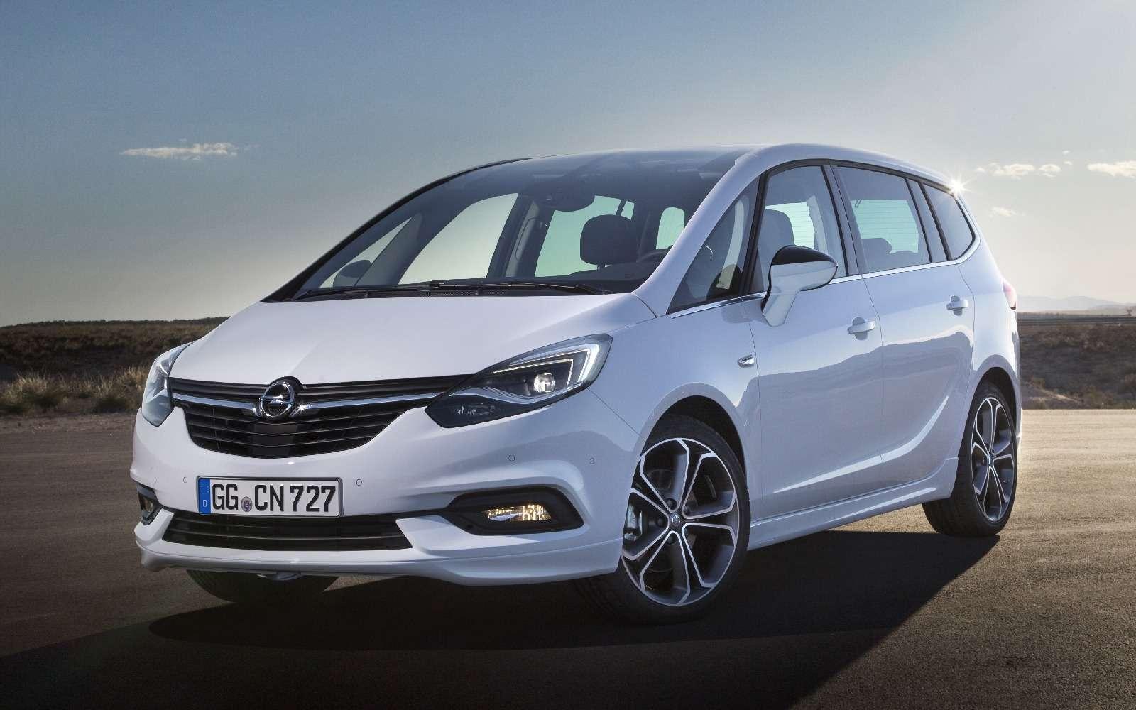 Обновленный компактвэн Opel Zafira представлен официально— фото 593685