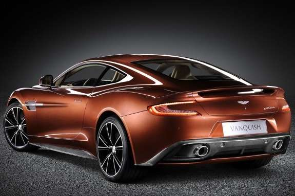 Aston Martin AM 310 Vanquish side-rear view