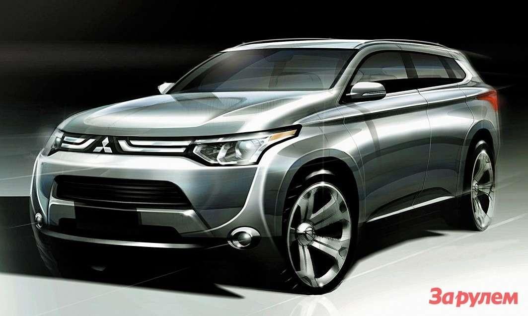 Концепт Mitsubishi Outlander