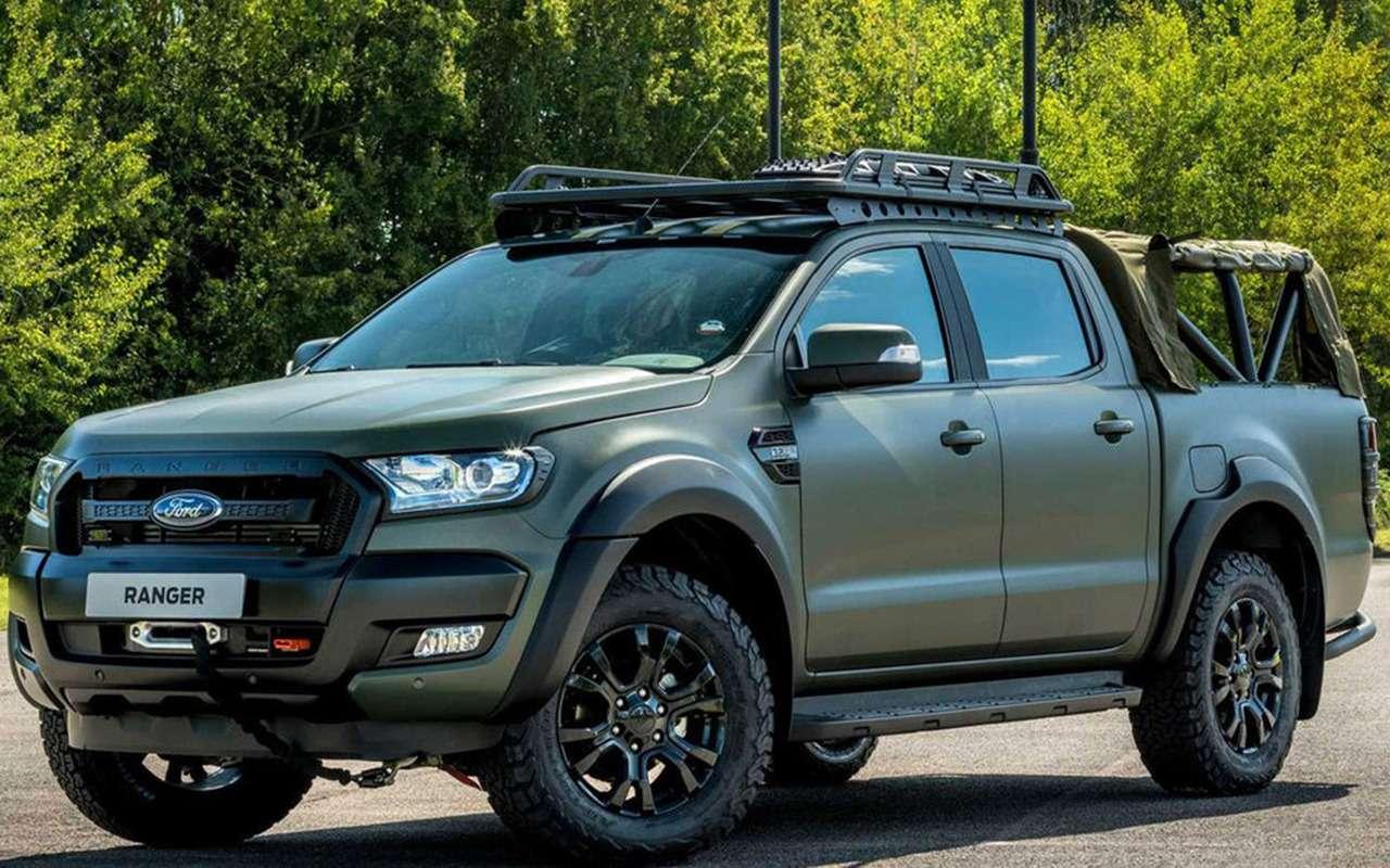В стиле милитари: Ford Ranger переделали дляармии— фото 1003983