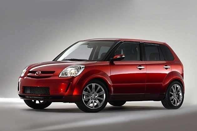 Новую Mazda Flexa представят