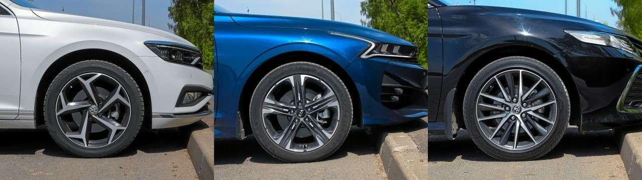 Toyota Camry, Kia K5, VWPassat— большой тест-сравнение— фото 1262533