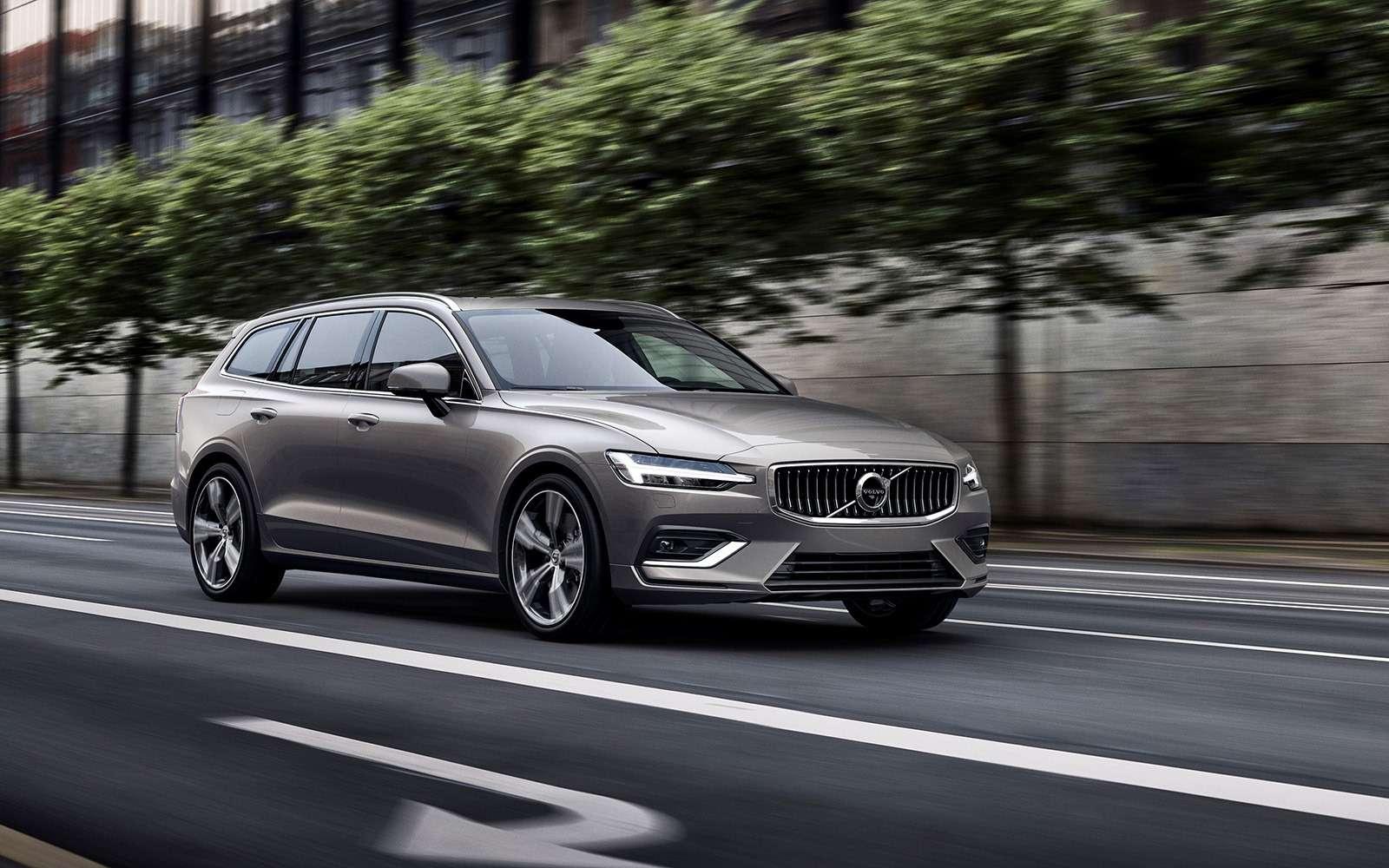 Volvo представила V60: семейный, роскошный инедлянас— фото 847551