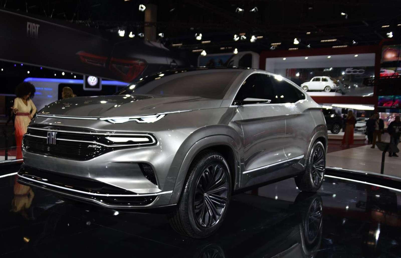 Fiat показал купе-кроссовер. Это будущий конкурент Renault Arkana!— фото 920722