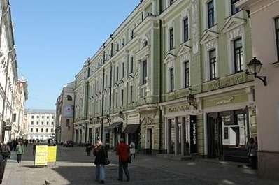 Столешников переулок вМоскве