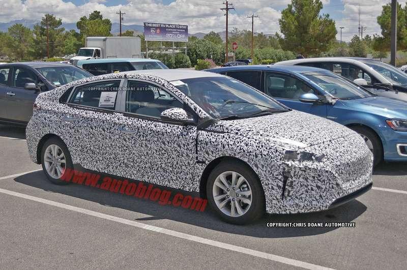 Новый гибрид Hyundai