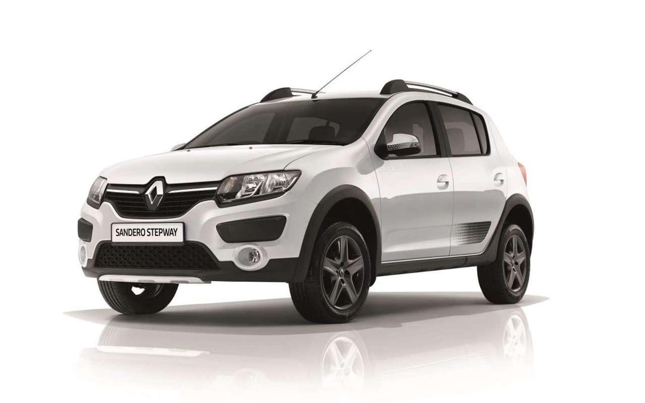 Renault Logan против Sandero Stepway: выбираем оптимальную комплектацию— фото 863207