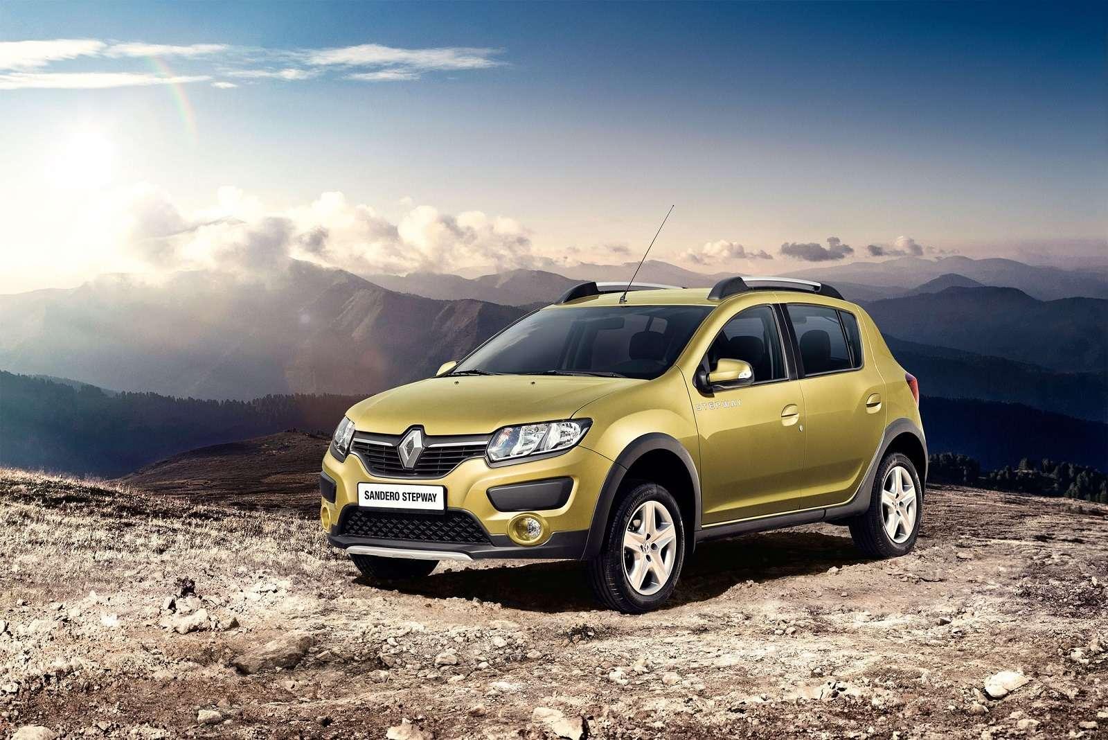 Renault предложит «внедорожный» Sandero за485 тыс. рублей— фото 361520