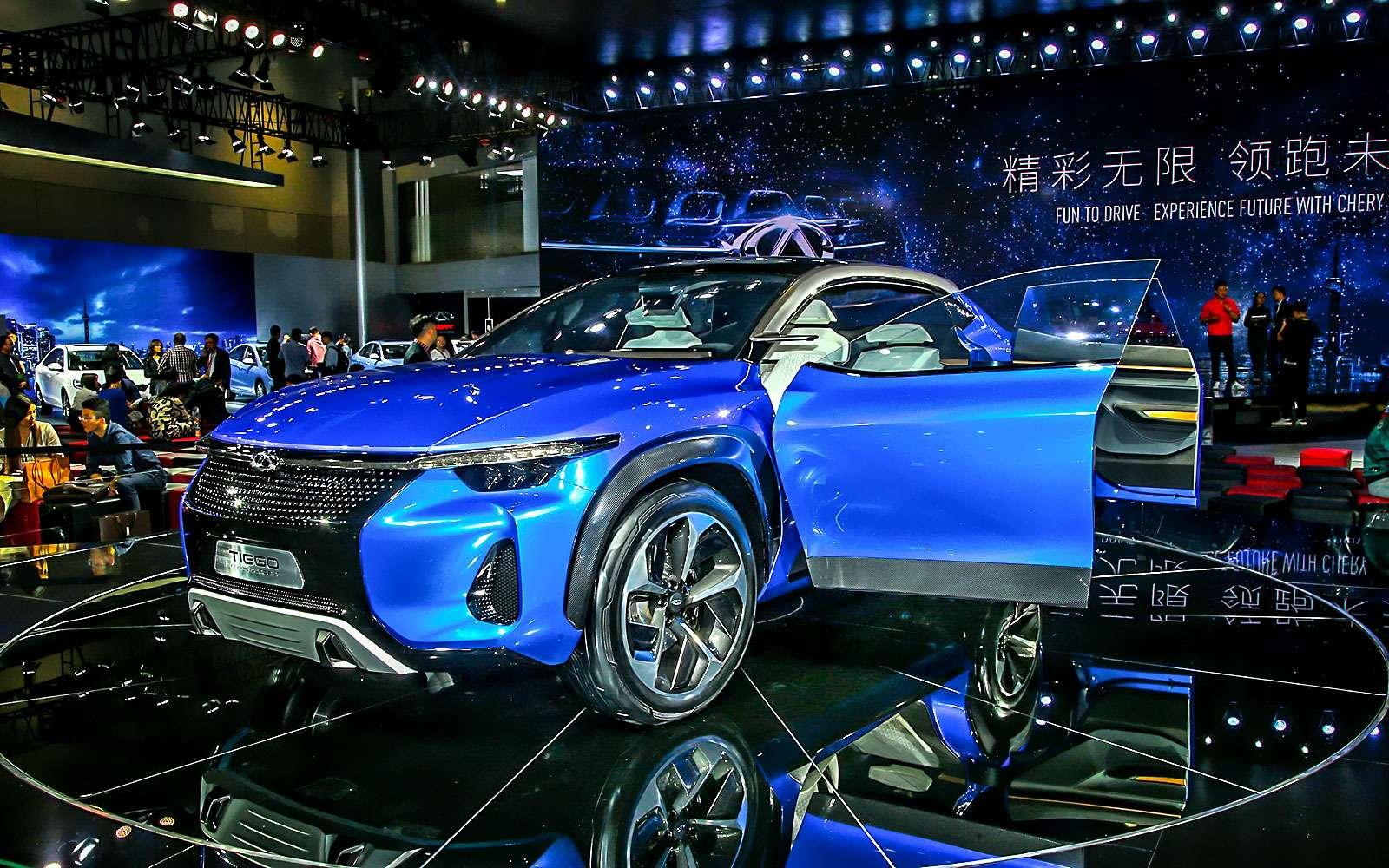 Новый Tiggo 5, будущая Camry идругие: онлайн-трансляция сШанхайского автосалона— фото 739759