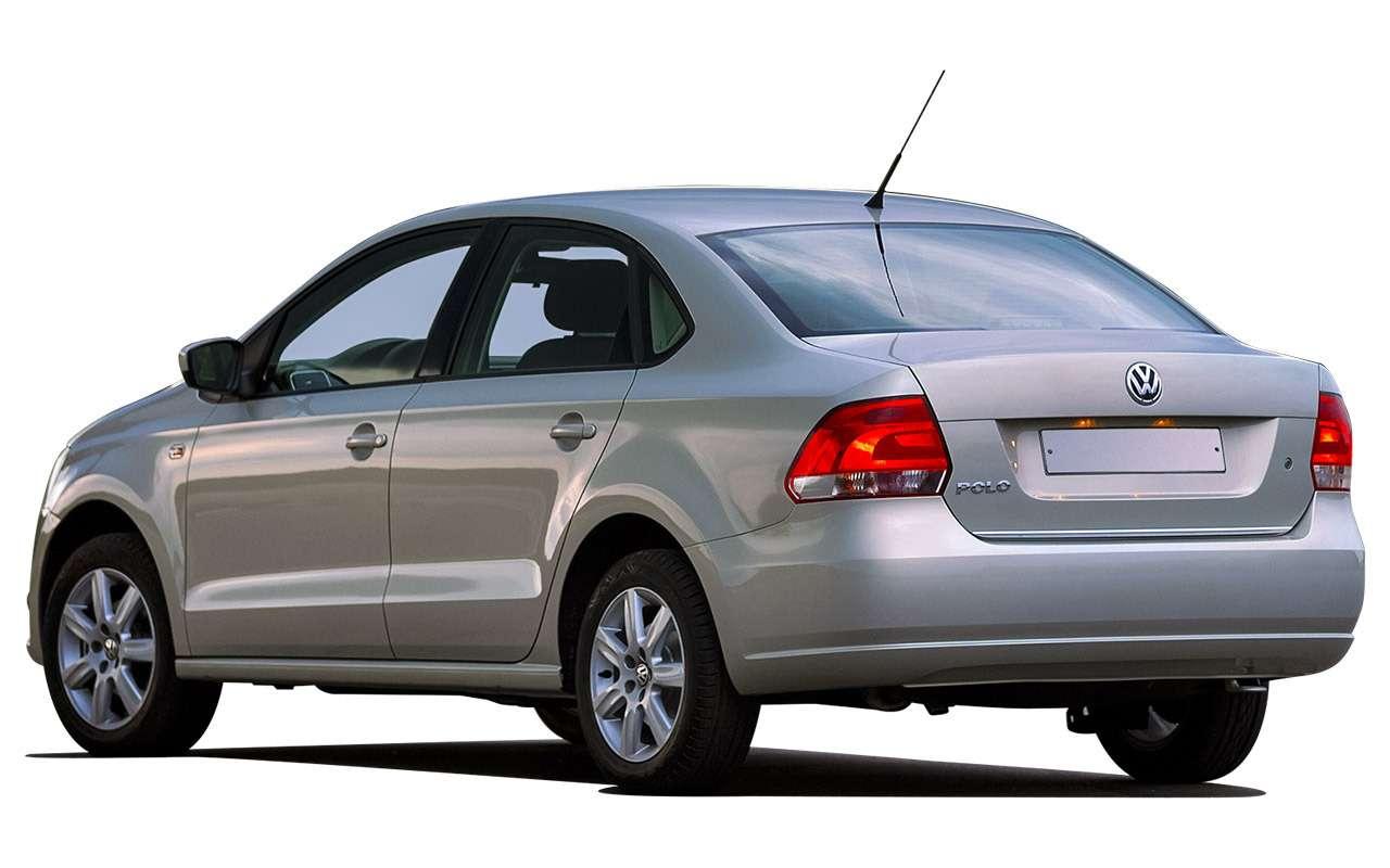Volkswagen Polo Sedan спробегом: полный список проблем— фото 976723